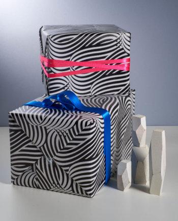 Vague Optique Papier Cadeau