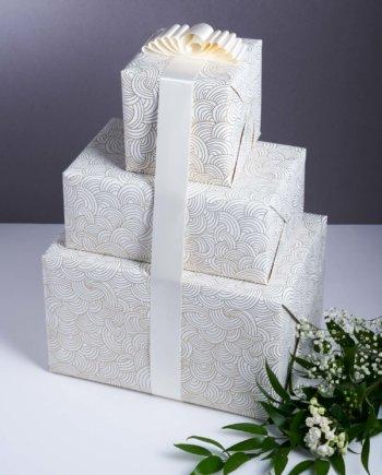 Océan de Vagues Papier Cadeau x3