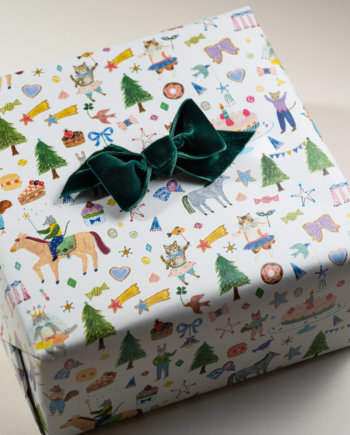 A Perfect Birthday Party Gift Wrap