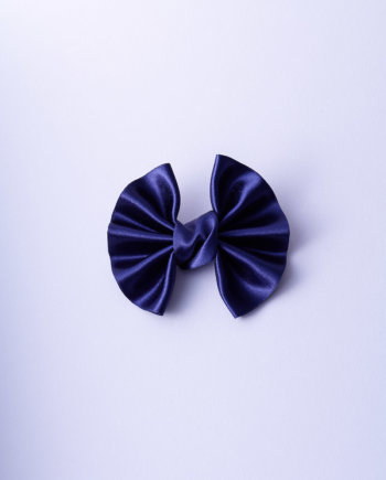 NSAA225NAV50_Navy Satin Winged Bow n°225_IMPRESSION_ORIGINALE