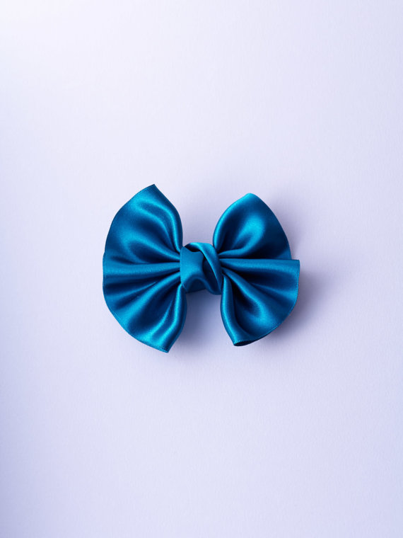 NSAA269BLE50_Teal Satin Winged Bow n°269_L_IMPRESSION_ORIGINALE