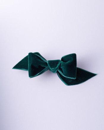 Nœud satin ailé rose opéra n°330 (L)