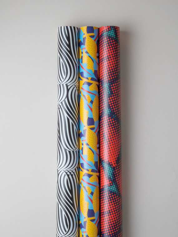 Work of Art x3 gift wraps by Impression Originale