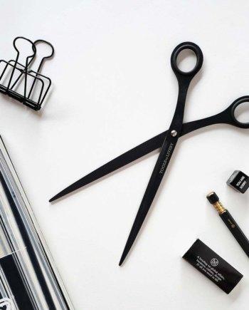 """Ciseaux noir longs 9"""" de Tools to Liveby pour IMPRESSION ORIGINALE"""